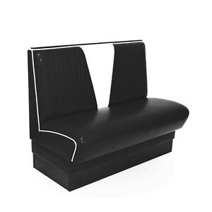 American Dinerbank Modell V schwarz-weiß, Fifties-Sixties Retro