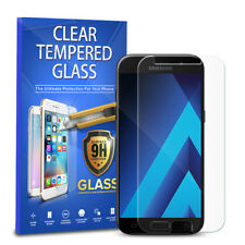 For Samsung Galaxy A5 2017 Phone Tempered Glass Screen Protector Cover