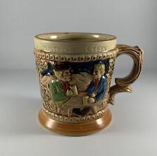 Vintage Mustache Stein 3-D Color Artwork Japan Coffee Mug Collectable Authentic