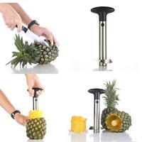 Fruits Pineapple Corer Slicer Peeler Cutter Parer Kitchen Stainless Steel Tool