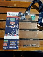 New listing 2006 MiLB Triple A All Star Home Run Derby Full Ticket Toledo Mud Hens Baseball