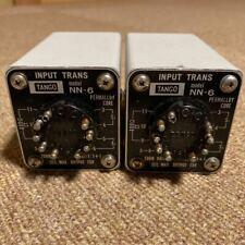 Pair Hirata Tango Input transformer NN-6 Vacuum tube amplifier Genuine From JPN