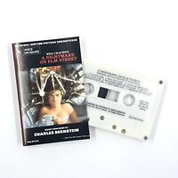 A NIGHTMARE ON ELM STREET Soundtrack Cassette Tape Charles Bernstein Horror Rare