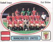 Panini Football 82 - Team Photo - Manchester United - # 160