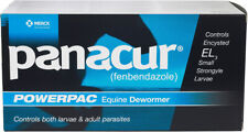 PANACUR Paste Wormer for Horses PowerPac 5 x 57gm tube - Free Shipping