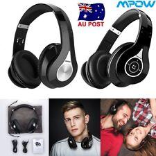MPOW 059 Wireless Bluetooth Foldable Headset Hi-Fi Stereo Headphone Earphone AU