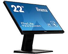 """Iiyama monitor T2252msc-b1 / 54 7cm (21 5"""")/10p multitouch Kapazitiv IPS Led..."""