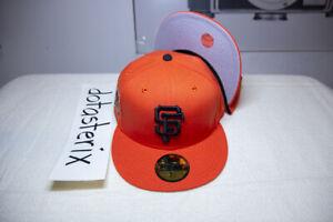 San Francisco Giants 5950 MLB Orange Gray UV 50th Anniversary NOT HAT CLUB