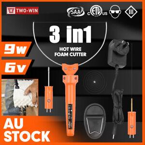 3in1 Hot Wire Foam Cutter Hot Knife Engraving Kit Styrofoam Polystyrene Cutting