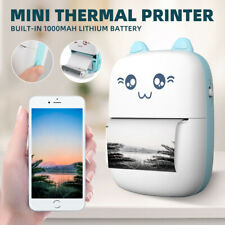 Portable Mini Thermal Printer Pocket Photo Printer Wireless Bluetooth Printing