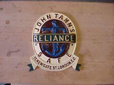 John Tann Antique safe plate