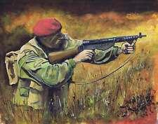 British Paratrooper WW2 Print 2