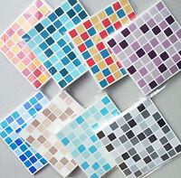 Self Adhesive Mosaic Tile Stickers Transfers Transform Bathroom Kitchen Decal ii