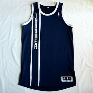 Adidas Oklahoma City Thunder Authentic Blank Jersey
