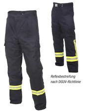 Feuerwehr Bundhose HuPF Teil 2 + Reflexstreifen Einsatzhose Feuerwehrhose