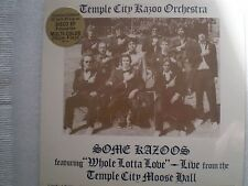 Temple City Kazoo Orchestra~SOME KAZOOS~Ltd Edit SS RNEP 501 Multi Color Vinyl