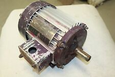 LINCOLN T-2508 ELECTRIC MOTOR 1 HP, 230/460 VOLT, 1740 RPM, 3 PHASE