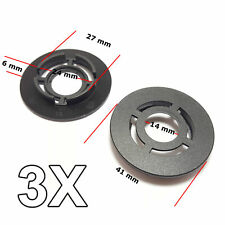 3X Floor Carpet Mat Retainers, Clips for VW, Skoda, Seat, Audi
