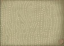 Woven Funky Modern Wavy Dots Contemporary Khaki Gray Offwhite Upholstery Fabric