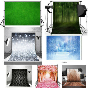7x7FT Vinyl Photo Backdrops,Paisley,Swirls and Lines Pattern Photo Background for Photo Booth Studio Props