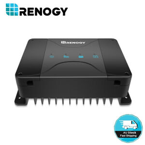 Renogy 30A 12V DC to DC In Vehicle Battery Charger W/ MPPT Solar Lithium AGM GEL