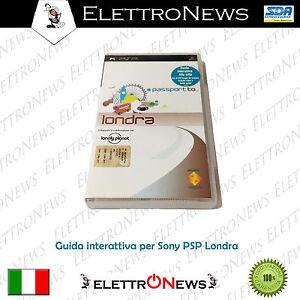 PSP Umd Passport Londra Guida interattiva Sony Psp Nuovo