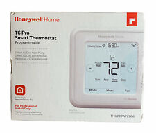 Honeywell TH6220WF2006 T6 Pro Smart Wi-Fi Programmable Thermostat 2H/2C (White)