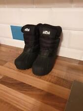 Childrens Polar Wellington / snow Boots. Black. Uk Size 2, Brand new in packet