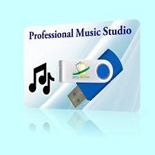 2017 Pro. Music Studio mp3 DJ mix music drum audio editing recording CD rip USB