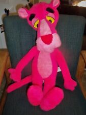 """26"""" 1980 Pink Panther Plush United Artists Mighty Star Adorable!"""