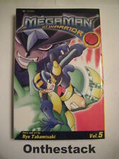MANGA:  Megaman: NT Warrior Vol. 5 by Ryo Takamisaki (2005, Paperback)