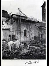 LAVIER / ARTISAN Pascal PIERRE triant LAVES pour TOITURE en 1988 / FAGE 88.165