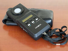 Minolta color Meter II Used EX+ with leather case