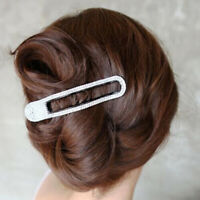 Women Crystal Hair Clips Claws Grips Non Slip Hairpin Headwear Styling Tools