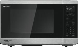 NEW Sharp R395EST 1200W Inverter Microwave - S/Steel