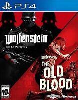 Wolfenstein: The New Order/Wolfenstein: The Old Blood PlayStation 4 PS4