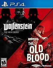 Wolfenstein: The Two-Pack (The New Order & The Old Blood) PS4 PlayStation 4 NEW