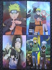 Naruto Anime / Manga Holographic Postcards #2 ( Set of 10 )