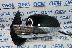 09-14 CADILLAC ESCALADE driver/left side view door mirror w/out blind spot OEM
