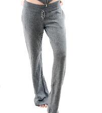 Hamish Morrow Women's Cashmere Jogging Pants Grey Size XXS BCF511
