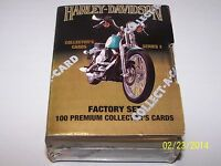 1992 Collect-A-Card Harley Davidson Collectors Cards Series 2 Sealed Factory Set