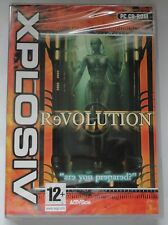 Revolution pc cd-rom jeu xp brand new & sealed!