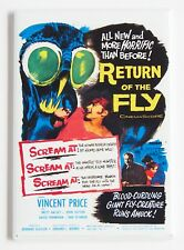 Return of the Fly FRIDGE MAGNET (2.5 x 3.5 inches) movie poster Vincent Price