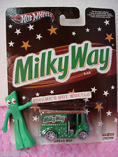 2013 POP CULTURE☆Milky Way☆BREAD BOX☆Green DeliveryTruck☆Real Riders☆Hot Wheels