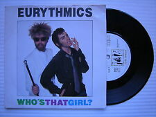 Eurythmics - Who's That Girl? / You Take Some Lentils & You Take Some Rice, DA-3