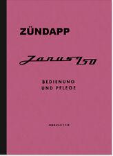 Zündapp Janus 250 Kleinwagen Bedienungsanleitung Betriebsanleitung Handbuch PKW