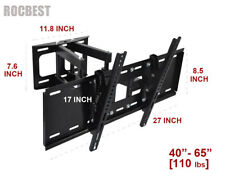Heavy Duty Full motion Swivel Tilt TV Wall Mount 40 42 46 50 55 60 65