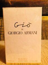 New Ultra Rare Gio de Giorgio Armani Eau De Parfum 50 ml, 1.7 FL.OZ Sealed box