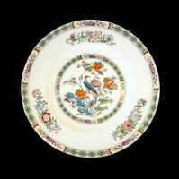 Beautiful Wedgwood Kutani Crane Brown Trim Dinner Plate