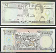 Fiji Paper Money 1 Dollar 1987 UNC
